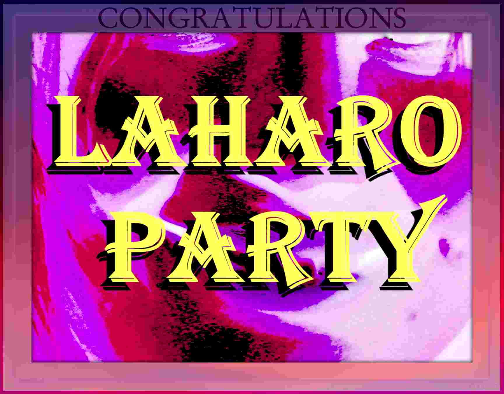 Laharo-party